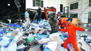 Cambodia Factory Collapse | Source: todayonline.com