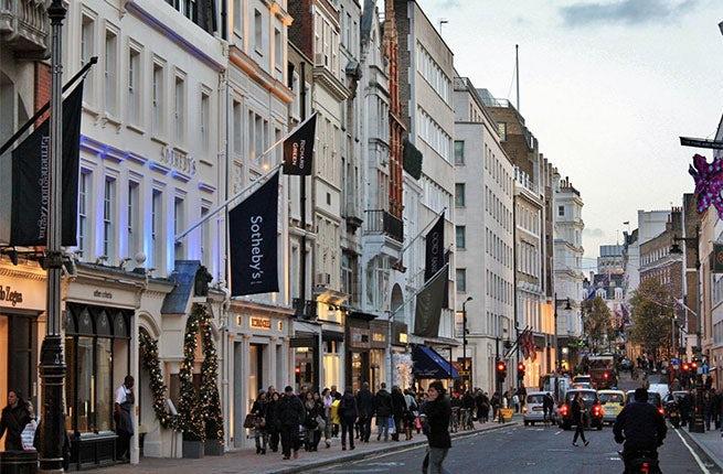 Bond Street London | Source: Planet Go Round