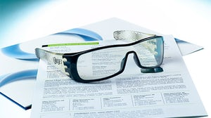 3D printed eyewear | Source: Stratasys