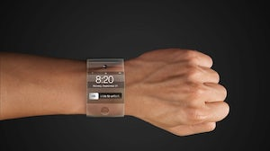 A rendering of the rumoured Apple iWatch | Source: appleinsider.com