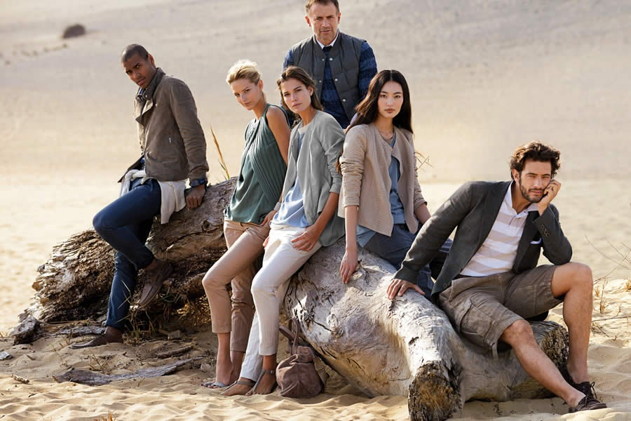 Brunello Cucinelli S/S 2013 Campaign | Source: Brunello Cucinelli