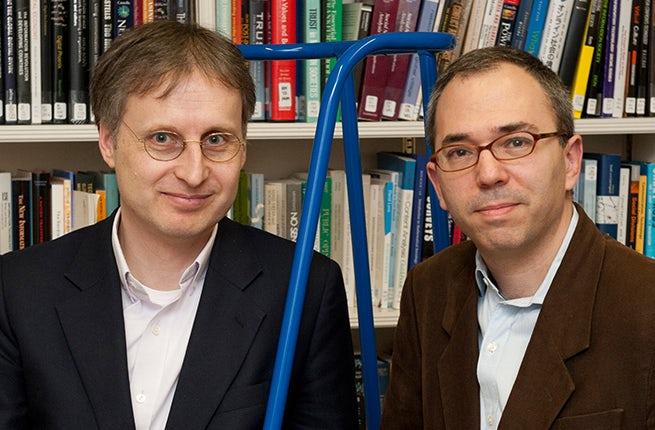 Viktor Mayer-Schönberger and Kenneth Cukier | Source: Courtesy Photo
