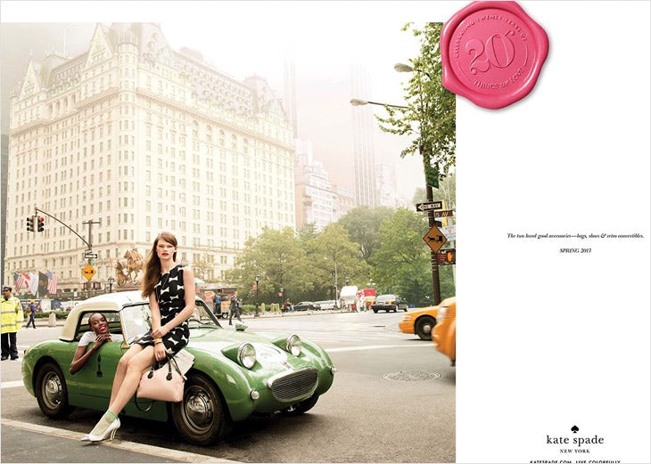 Kate Spade Spring 2013 Campaign | Source: Kate Spade