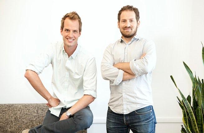 Philippe von Borries and Justin Stefano   Source: Courtesy photo