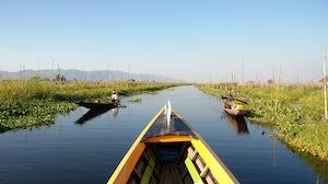 Inle Lake, Myanmar   Source: Wikimedia