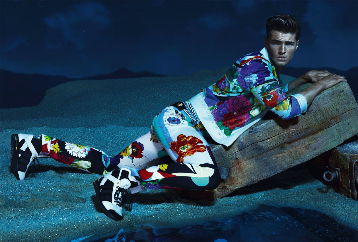 Versace Spring/Summer 2013 campaign   Source: Versace