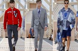 Louis Vuitton Menswear Spring/Summer 2014 | Source: Nowfashion