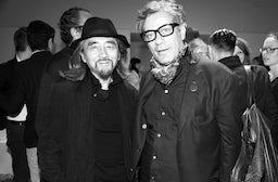 Yohji Yamamoto and Marc Ascoli | Photo: Saskia Lawaks
