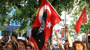 Protestors in Turkey   Source: Shutterstock