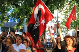 Protestors in Turkey | Source: Shutterstock