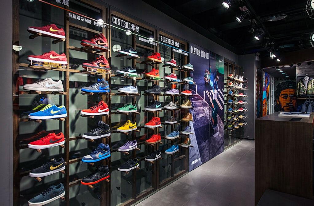 nike shoe sales