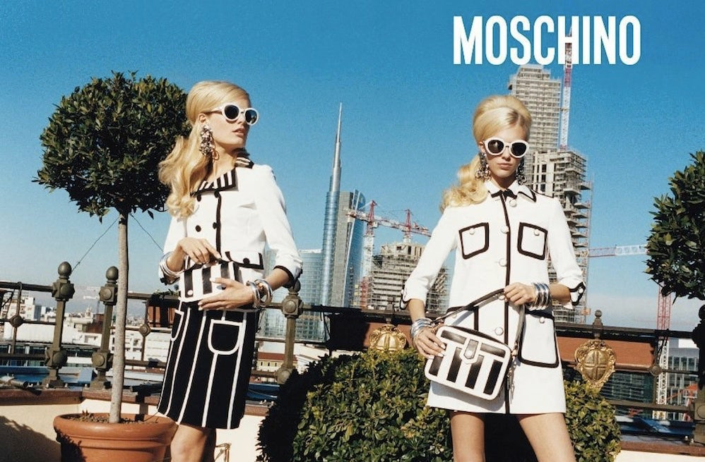 Moschino Spring/Summer 2013 Campaign | Source: Moschino