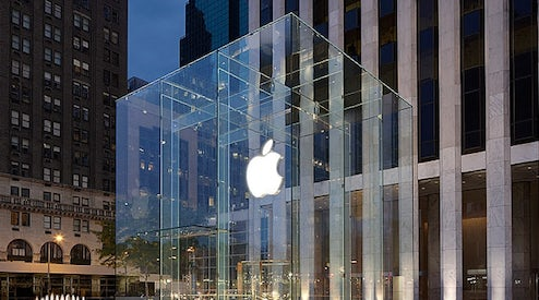 d125e854acf Apple Hires Yves Saint Laurent CEO Deneve for Special Projects. Share.  Comment. By Bloomberg July 3, 2013 08:36. Apple Store on 5th Avenue in New  York ...