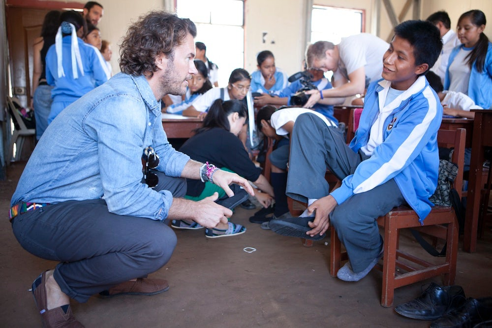 Blake Mycoskie, founder of Toms | Source: Courtesy