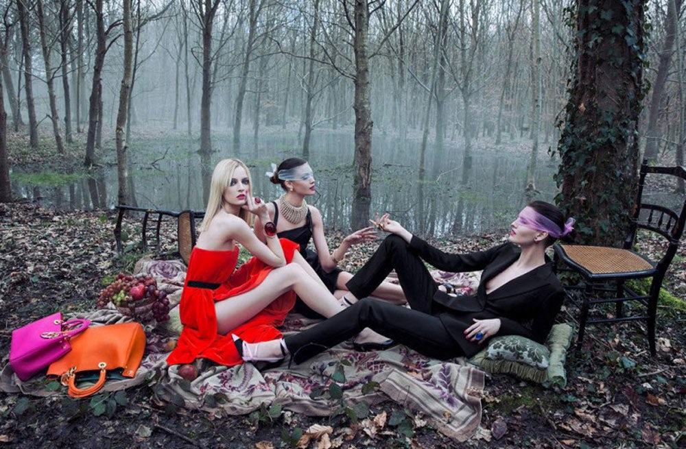 Dior 'Secret Garden 2' Autumn/Winter 2013 Campaign | Source: Dior
