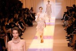 Giorgio Armani F/W 2013 Couture | Source: Associated Press