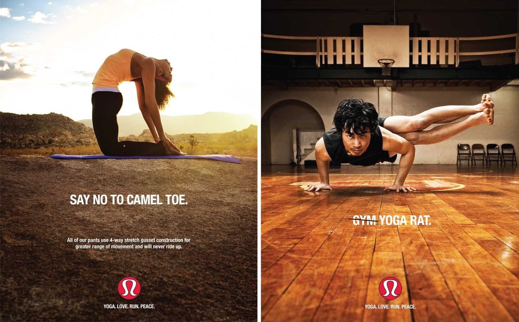 Lululemon ad campaign | Source: Lululemon