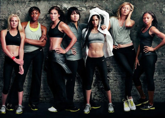 "Nike Women ""Make Yourself"" campaign 