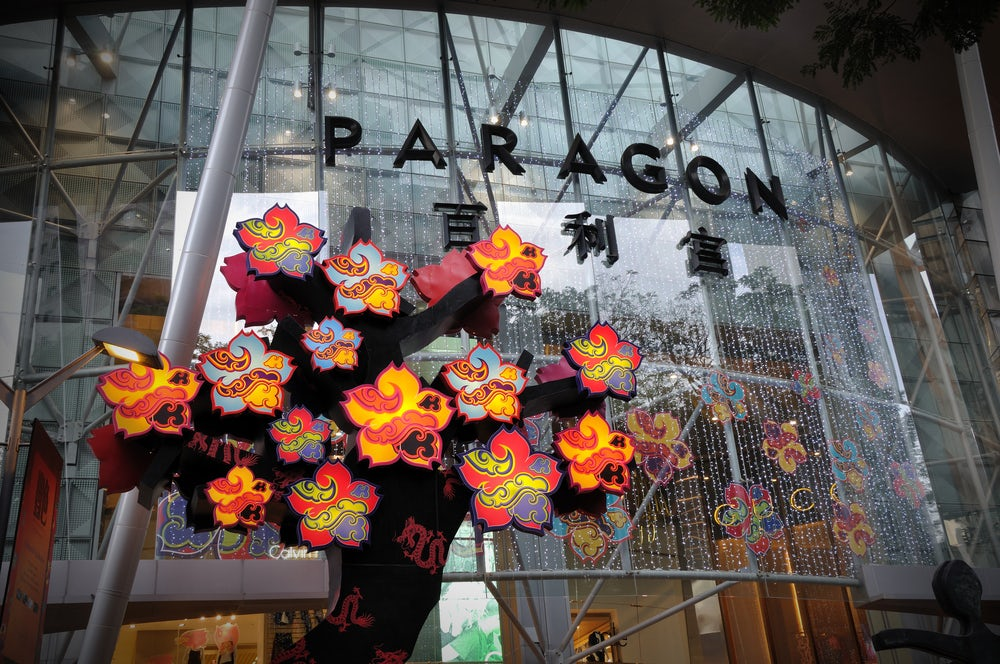 Paragon Shopping Centre, Singapore | Source: Shutterstock