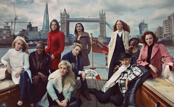 M&S Leading Ladies Campaign featuring Grace Coddington | Source: Marks & Spencer