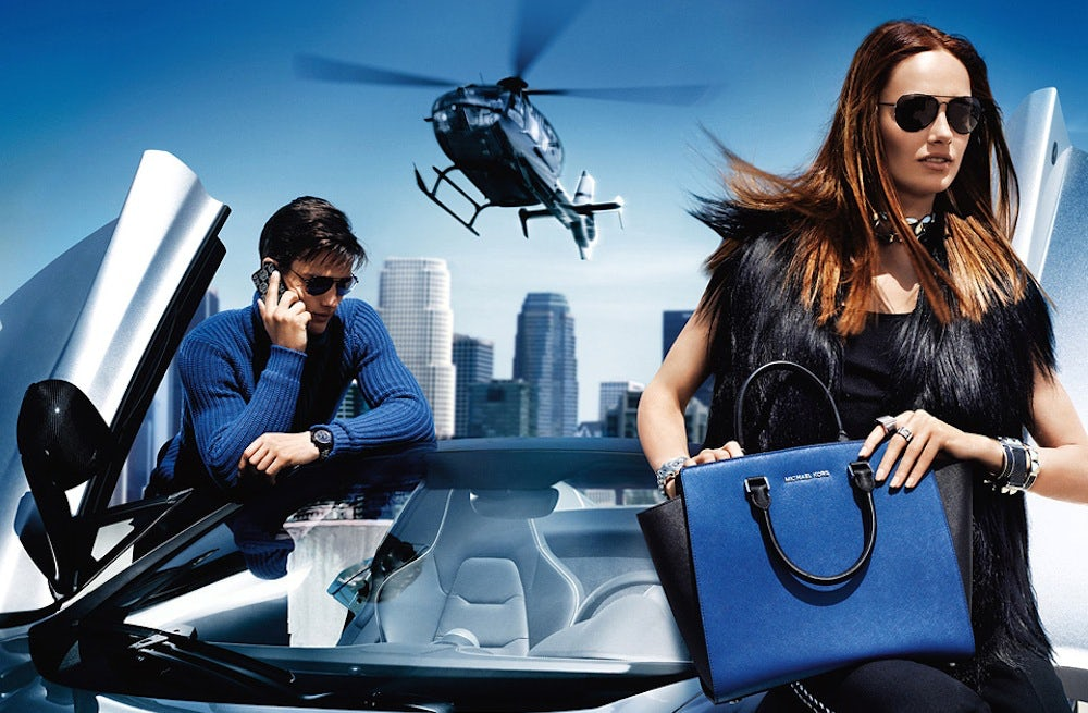 Michael Kors Autumn/Winter 2013 Campaign | Source: Michael Kors