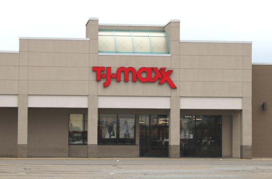 Tj maxx clothing store near me