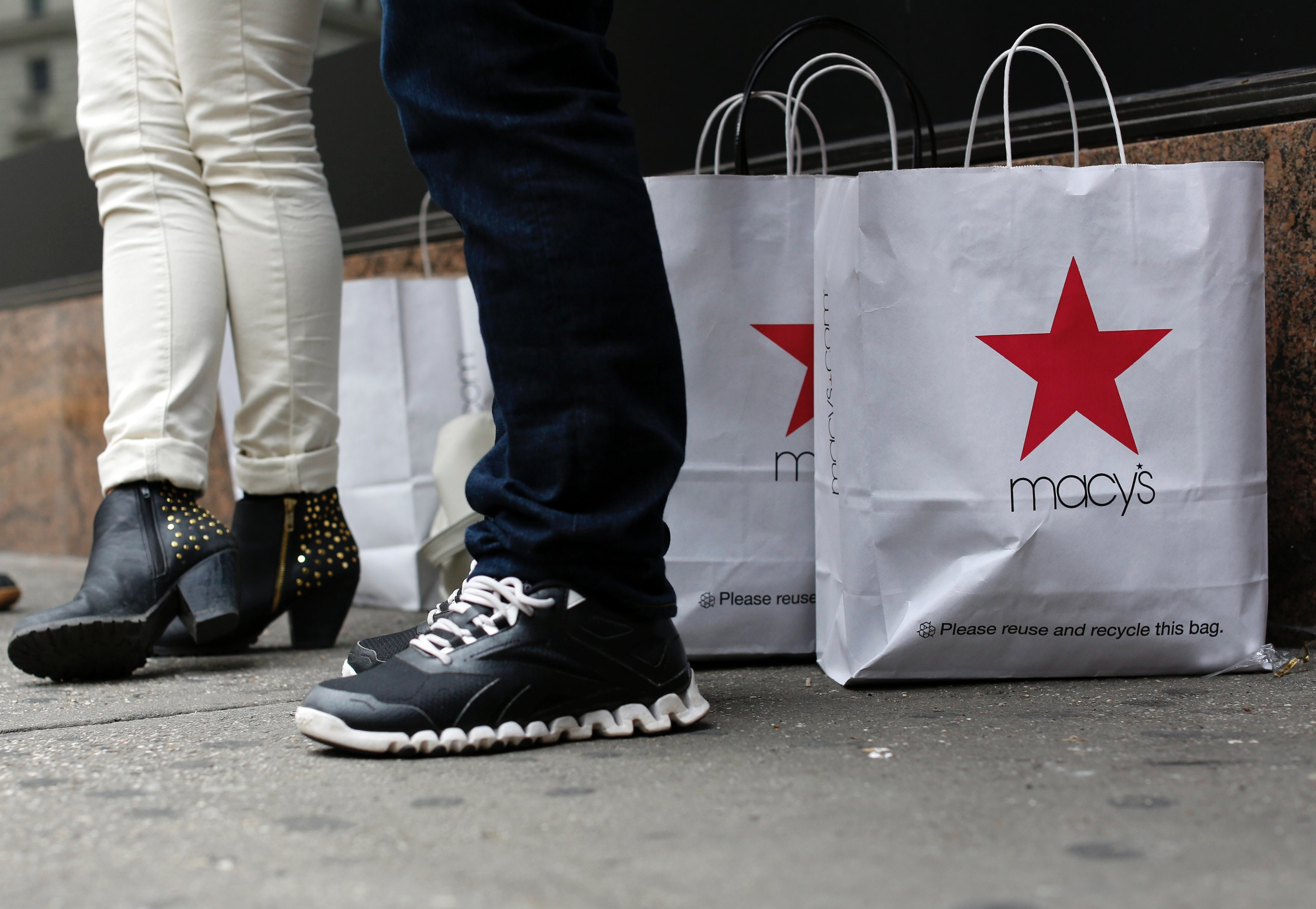 Macy's shopping bag | Source: Reuters