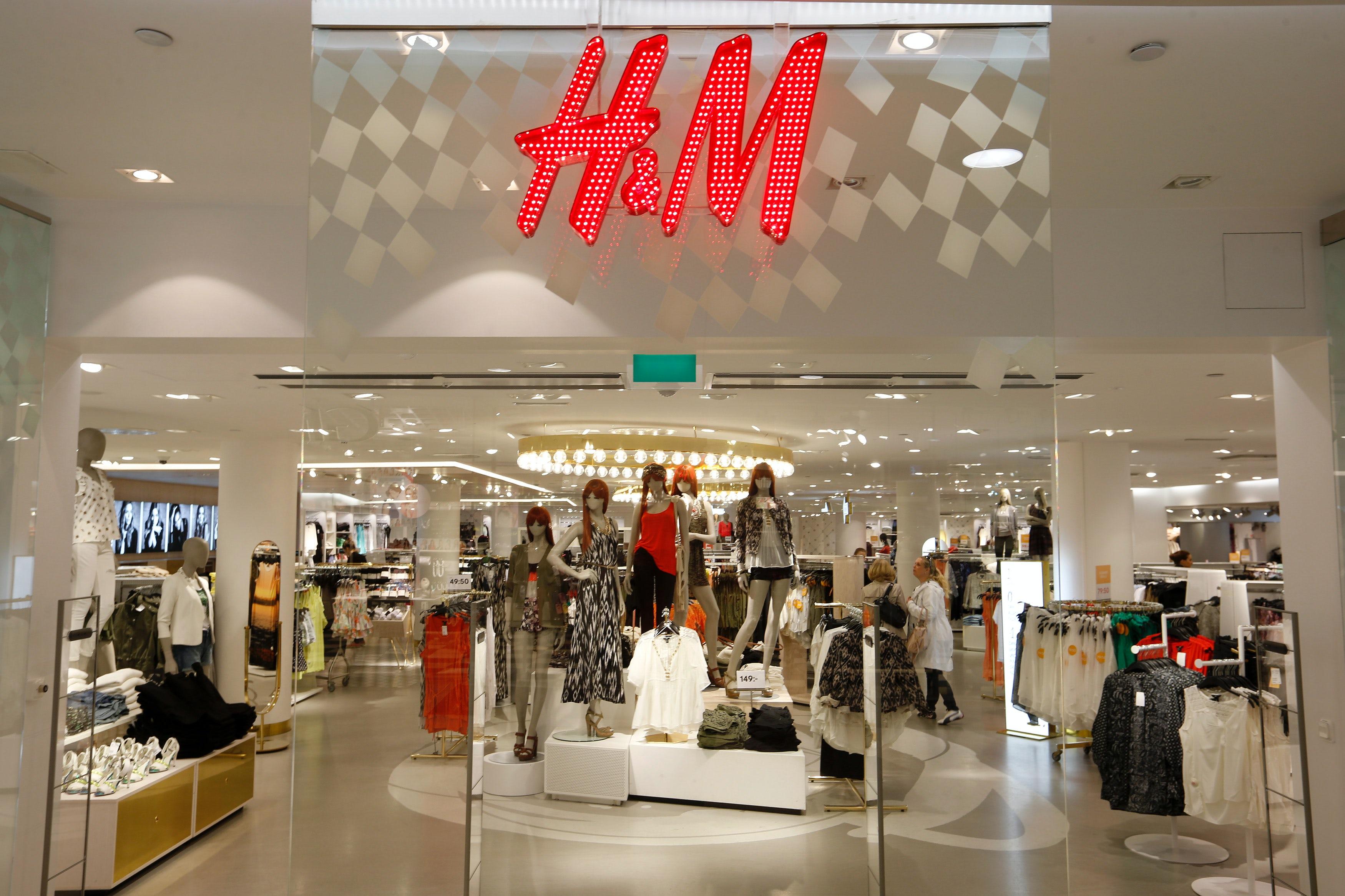 H&M   Source: Reuters