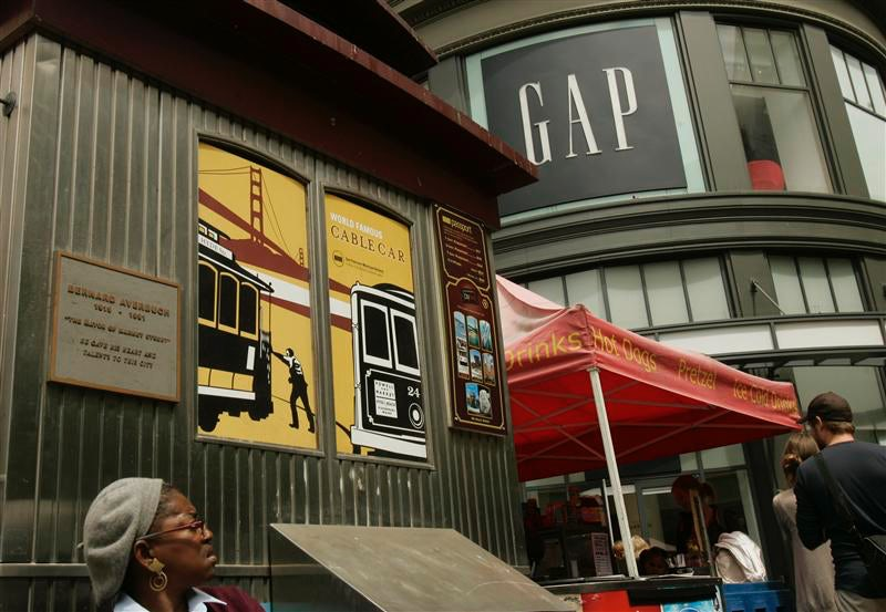Gap store façade | Source: Reuters