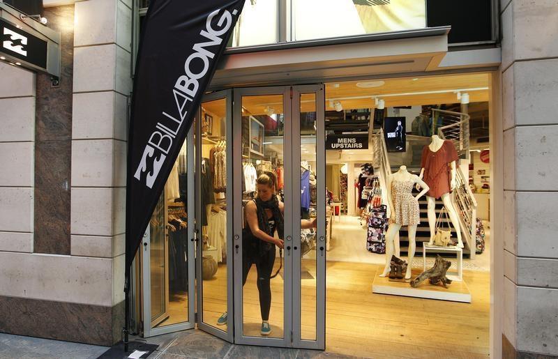 Billabong store facade | Source: Reuters