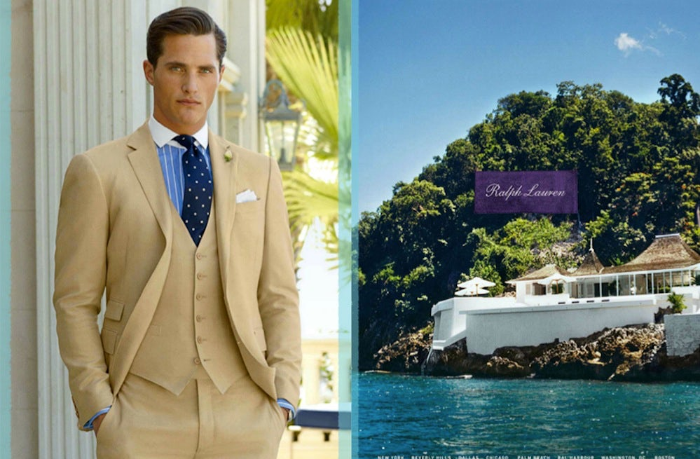 Ralph Lauren Purple Label S/S 2013 Campaign | Source: Ralph Lauren