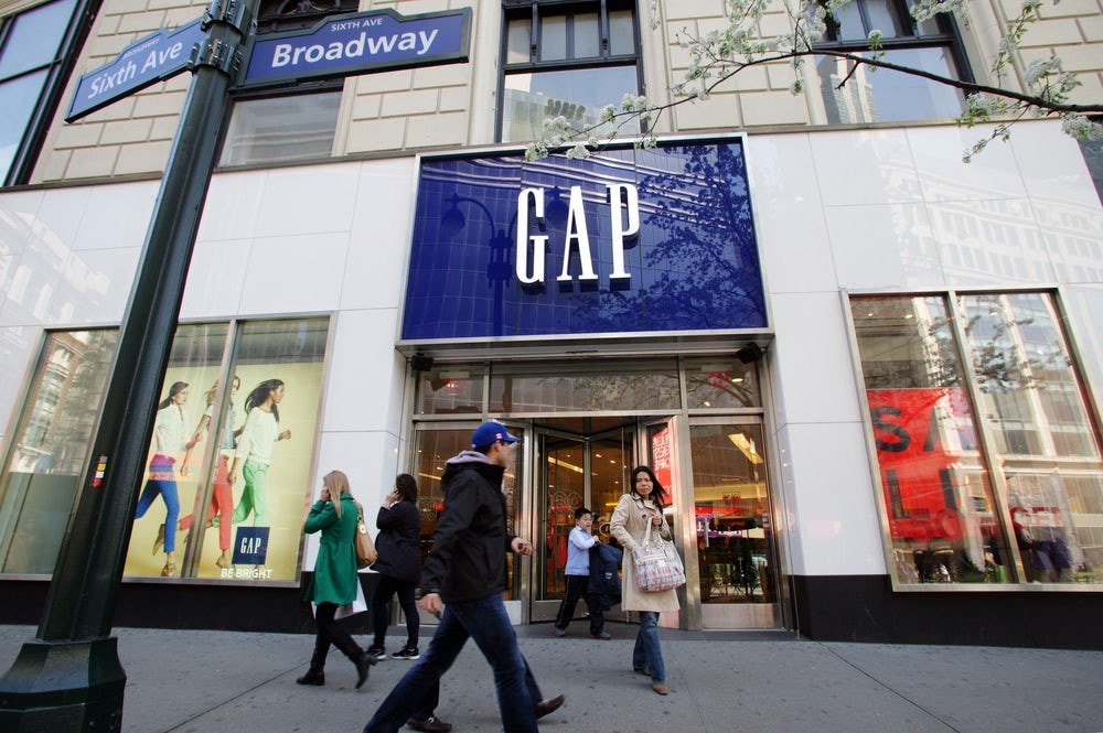 GAP Store on Broadway, New York | Source: Shutterstock