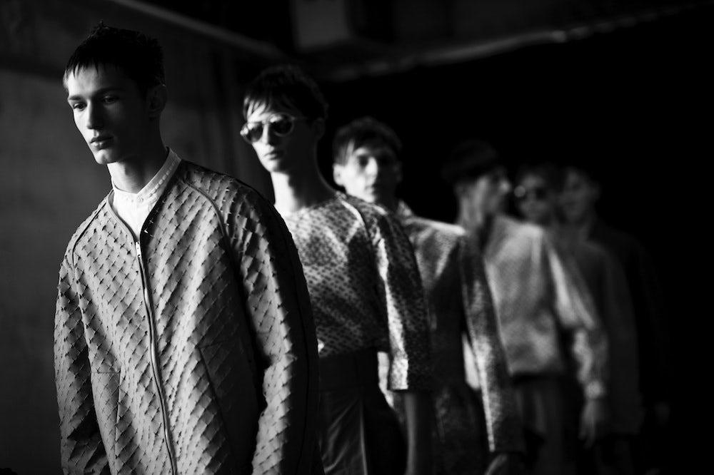 Damir Doma Menswear S/S 2014   Photo: Adam Katz Sinding