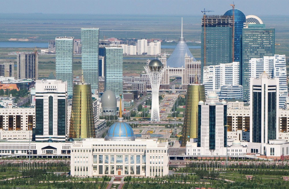 Skyline in Astana, Kazahkstan | Source: Shutterstock