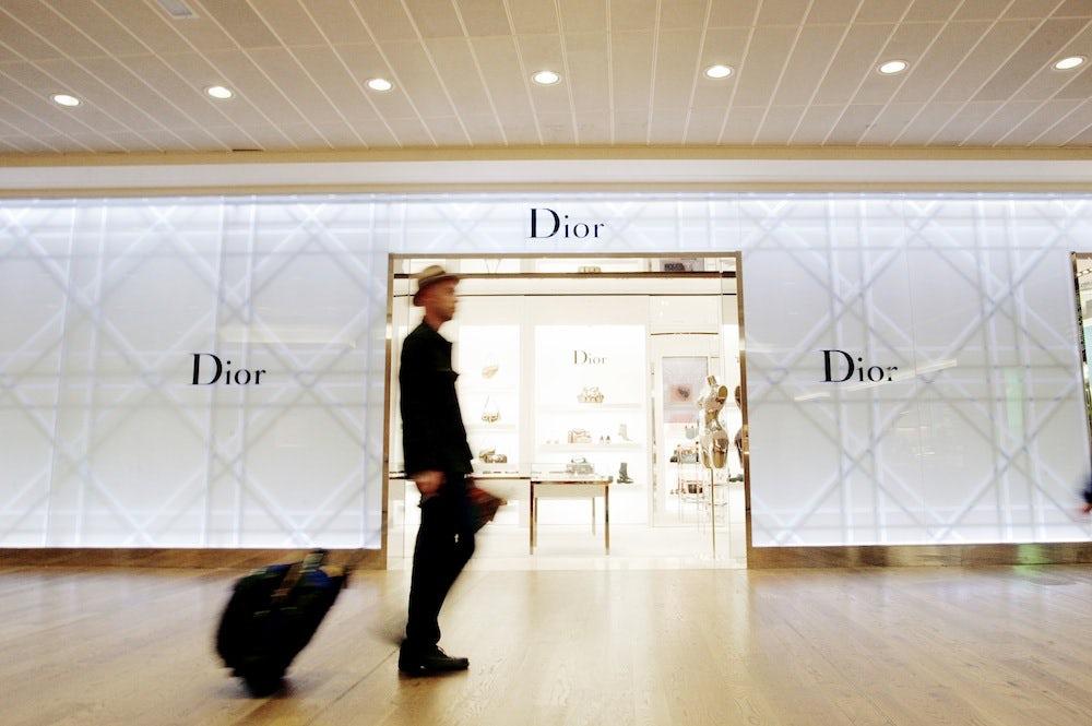 Dior concession at London Heathrow Airport | Source: Heathrow Airport