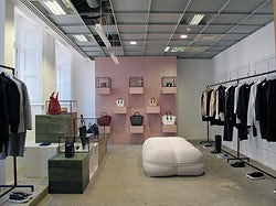 Céline space at Dover Street Market London | Source: Courtesy