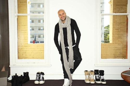 Chris Kyvetos, founder of Sneakerboy | Photo: Sonny Vandevelde for BoF