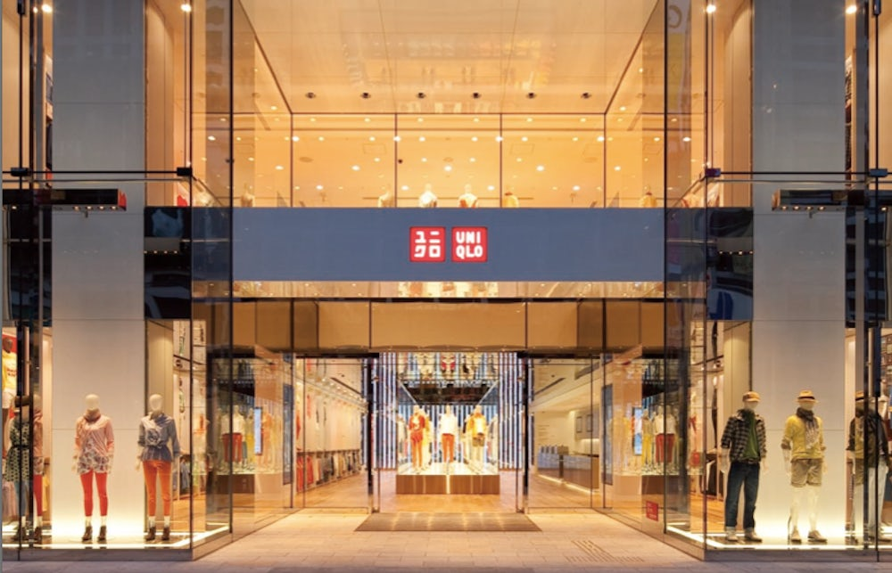 Uniql's  Global Flagship, Ginza District, Tokyo | Source: Fast Retailing