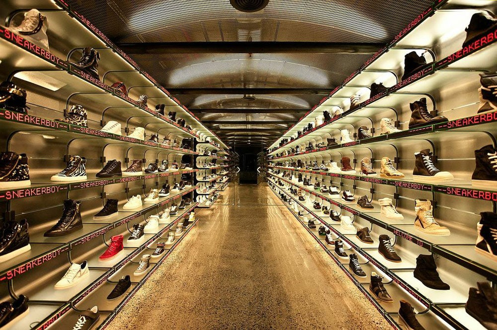 Sneakerboy's Luxury Retail Revolution
