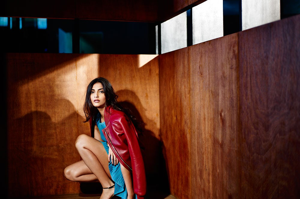 Sonam Kapoor styled by Nikhil Mansata | Photo: R Burman for BoF
