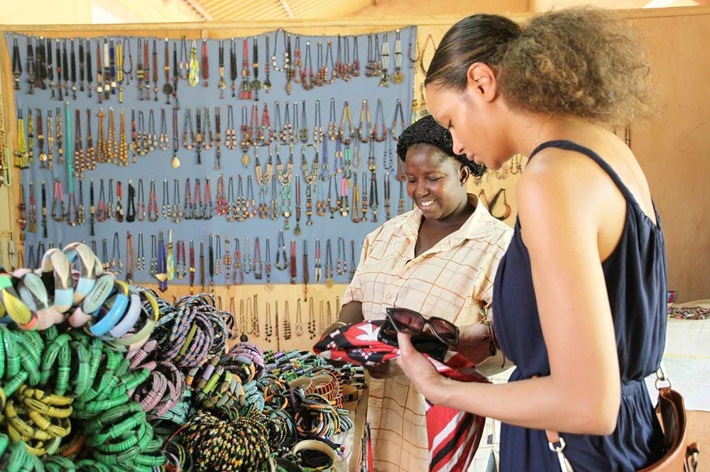 Designer Stella Jean in Burkina Faso, West Africa | Source: Courtesy