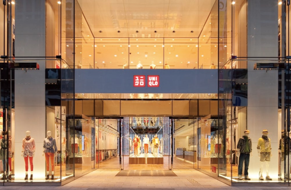 Uniqlo flagship in Tokyo's Ginza district   Source: Fast Retailing