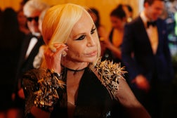 Donatella Versace | Source: Reuters