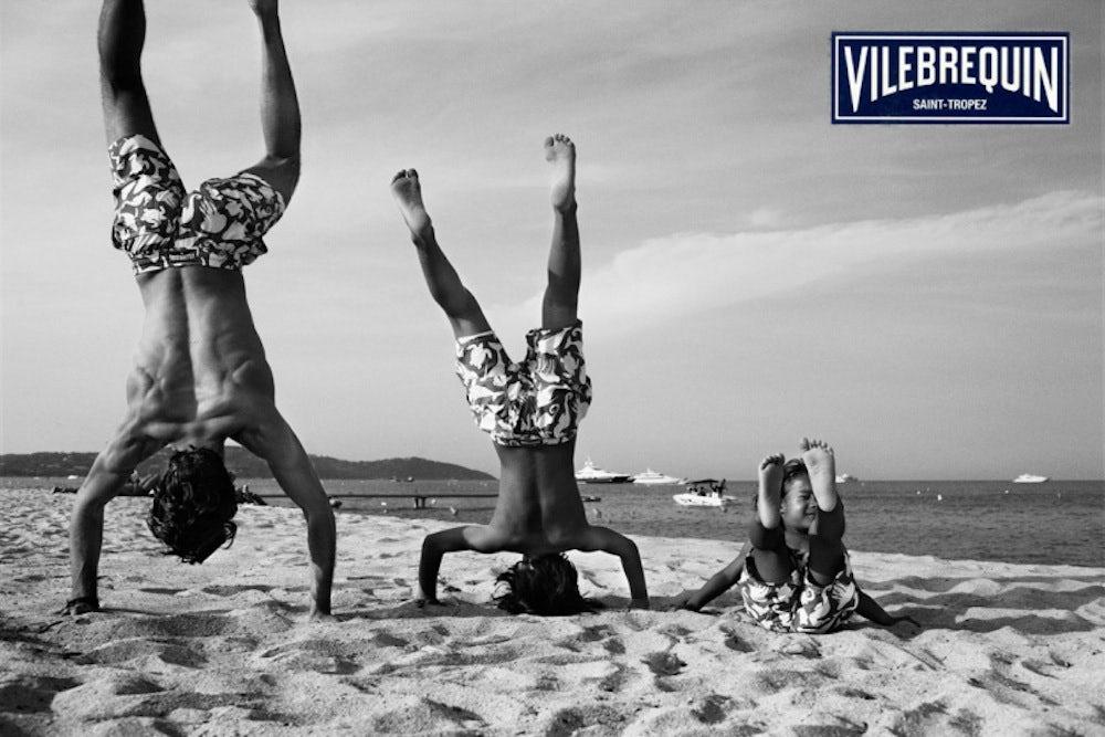 G-III Apparel Brand Vilebrequin's 2013 Campaign | Source: Vilebrequin
