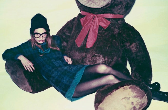 An advertising image for Moussy, one of Baroque Japan's many womenswear brands | Source: Baroque Japan