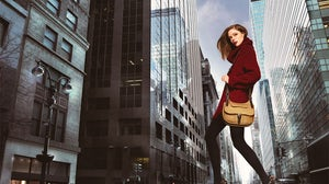 Coco Rocha for Longchamp | Source: Longchamp