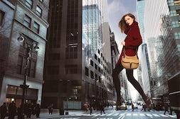 Coco Rocha for Longchamp | Source: Longchamp