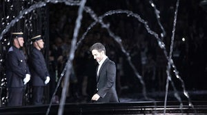 Marc Jacobs after presenting Louis Vuitton S/S 2014 | Source: NowFashion