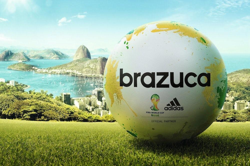 Adidas 'Brazuca' football | Source: Adidas
