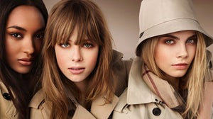 Burberry Beauty campaign | Source: Burberry